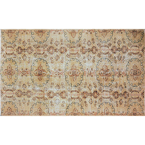 Vintage Turkish Art Deco Rug, 5'x8'10''