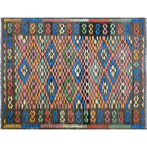 Afghan Maimana Kilim,6'x8'