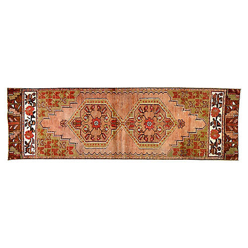 Turkish Anatolian Rug - 2'4''x7'4''