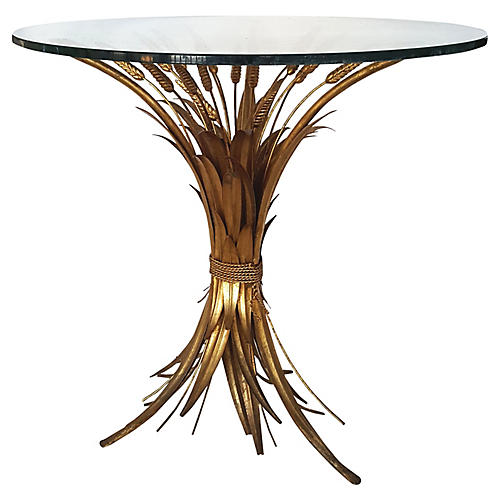 French Sheaf of Wheat Coffee Table