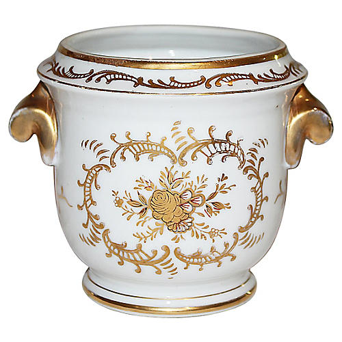Continental Gilded Cachepot