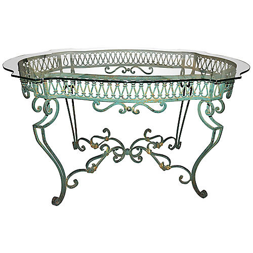 Wrought Steel Dining Table