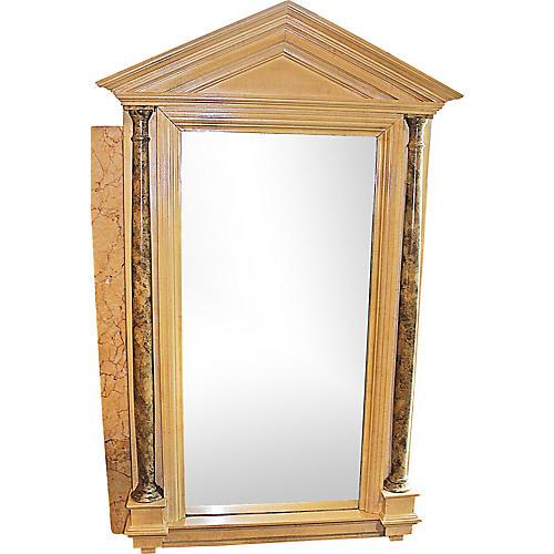 Pillared Tall Mirror