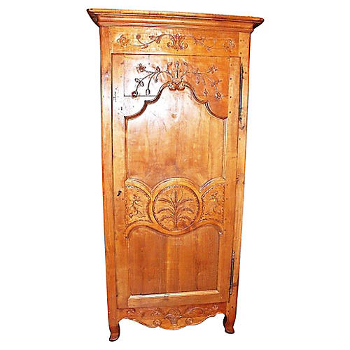 French Country Bonnetiere Armoire