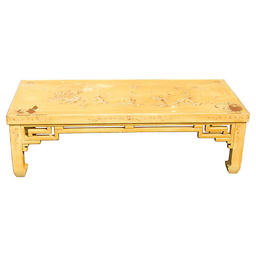 Midcentury Asian-Style Coffee Table