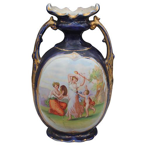 19th-C. Vienna Royal Vase