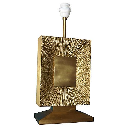1970s Maison Bagues Bronze Doré Lamp