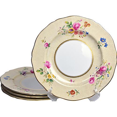 1920s Spode Dinner Plates, S/4