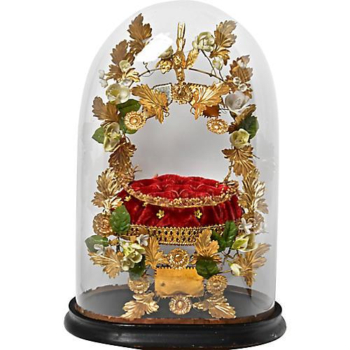 19th-C. French Wedding Globe