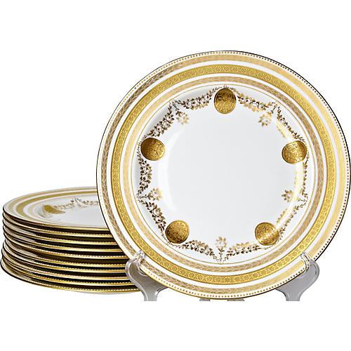 Wedgwood Dinner plates, S/11