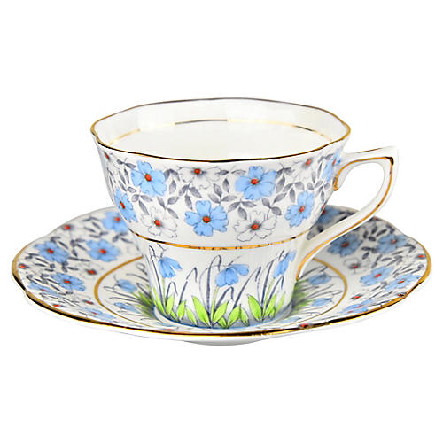 1930s Cup & Saucer