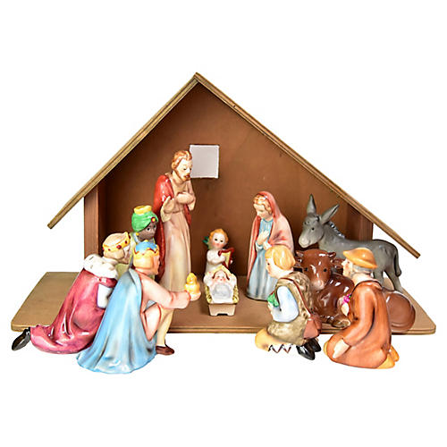 Goebel Nativity Set, 12 pcs