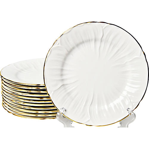 Shelley Hors d'Oeuvre Plates, S/12