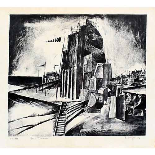 Modern American Industrial Print