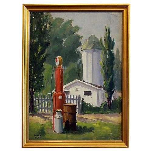 Gas Pump by Julius Richter