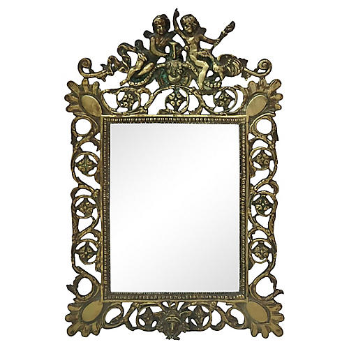Bronze Renaissance Mirror
