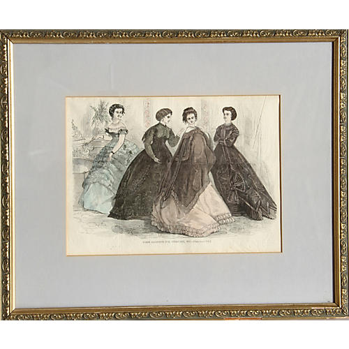 Paris Fashions, 1867
