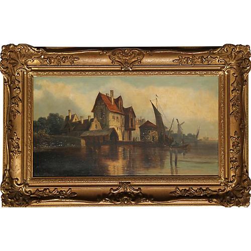 Dutch Seaside by Van Hoom