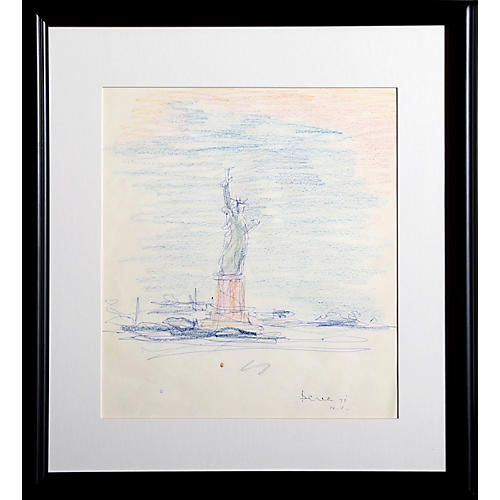 Statue of Liberty by Dimitrie Berea
