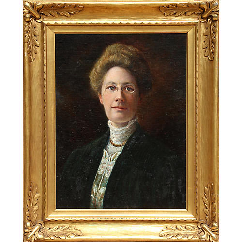 Portrait of Sally Rowe McCune by Graves