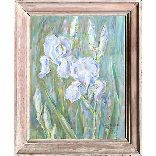 Irises by Charles Blaze Vukovich