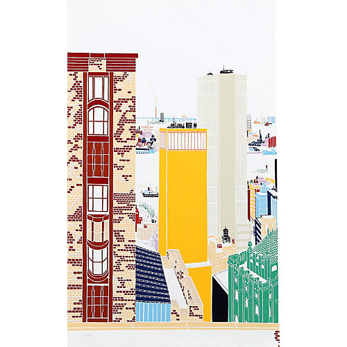 New York Skyline I by Mori Shizume