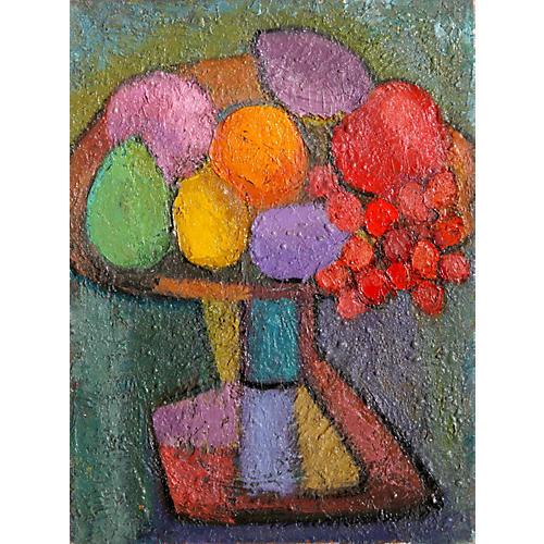 Fruit Still Life by Miriam Bromberg