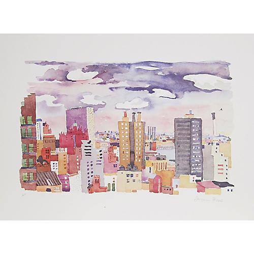 New York Landscape 4 by Jacqueline Fogel