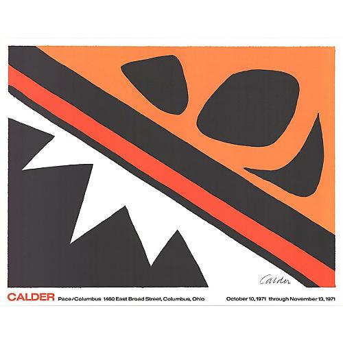 La Grenouille et la Scie, Calder