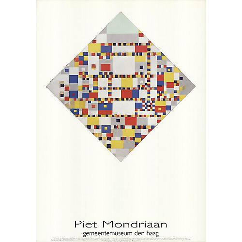 Victory Boogie-Woogie by Piet Mondrian