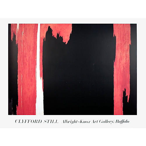 Untitled by Clyfford Still, 1986
