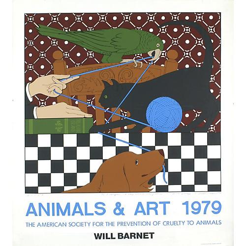 Animals & Art, Will Barnet