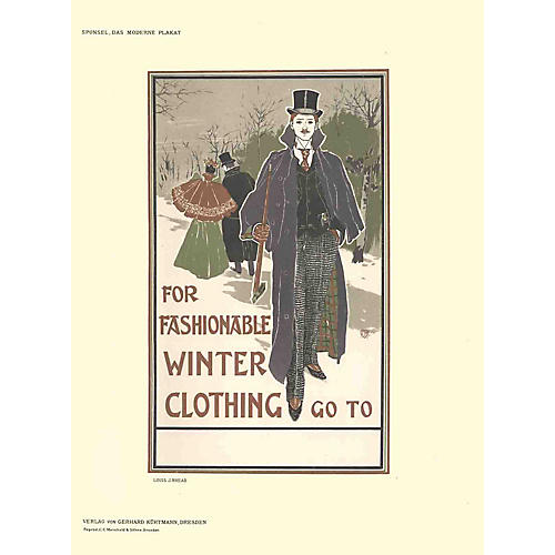 For Fashionable Winter Clothing - 1897