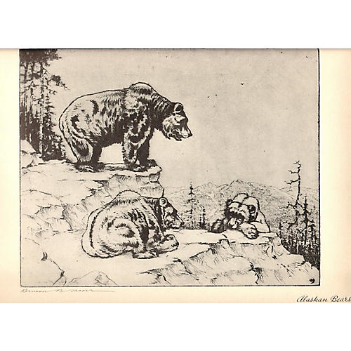 Benson B Moore - Alaskan Bears - 1936