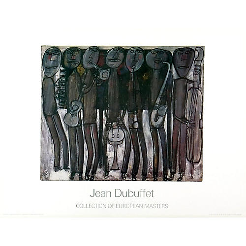 New Orleans Jazz Band by Jean Dubuffet