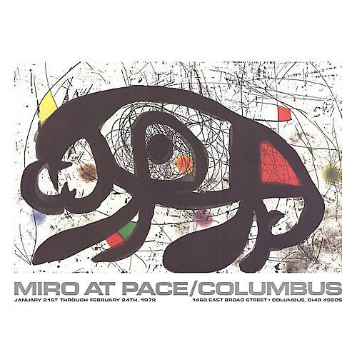 At Pace Columbus (Horizontal) by Miró