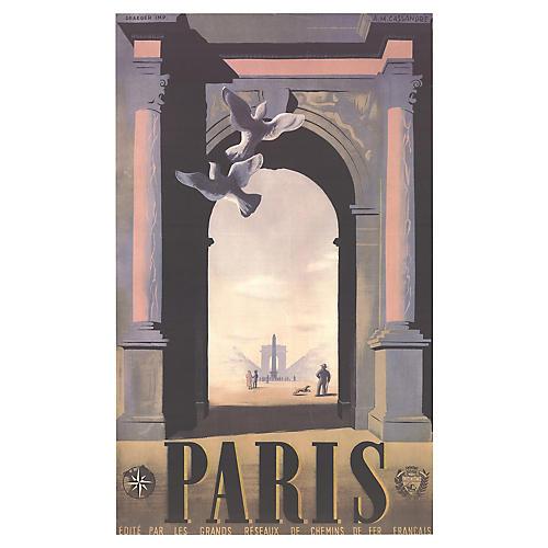 A.M. Cassandre - Paris, 1998
