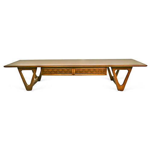 1960s Long Coffee Table