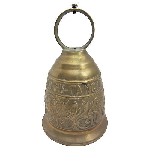 Antique Italian Brass Bell