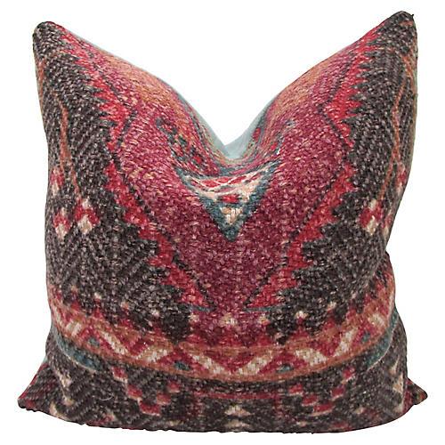 Bohemian Red Pillow