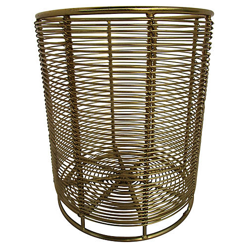 1960s Gold Wire Catchall