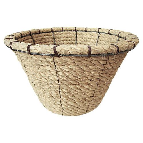 Nautical Rope Basket