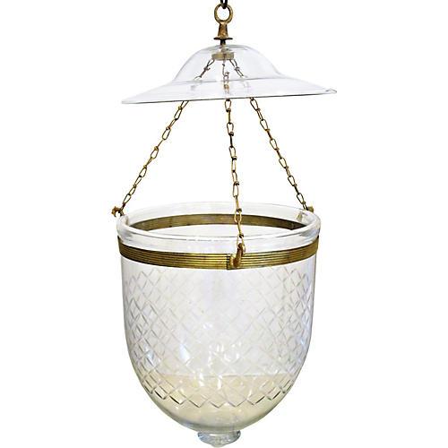 Italian Bell Jar Pendant