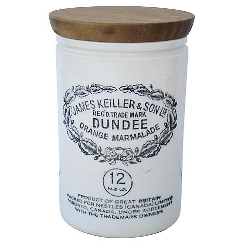 Dundee Ironstone Marmalade Jar