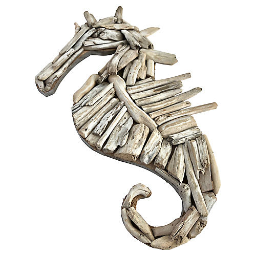 Coastal Driftwood Seahorse