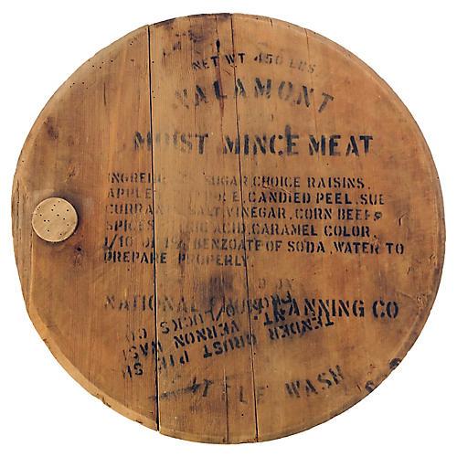 Antique Seattle WA. Barrel Cover