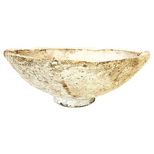 Vintage Papier-Mâché Decorative Bowl