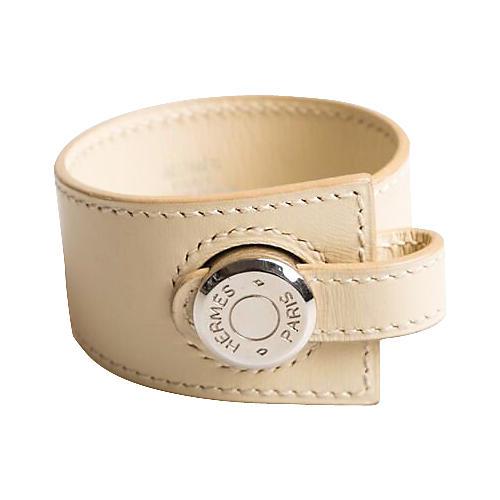 Hermès Clou de Selle Parchemin Bracelet