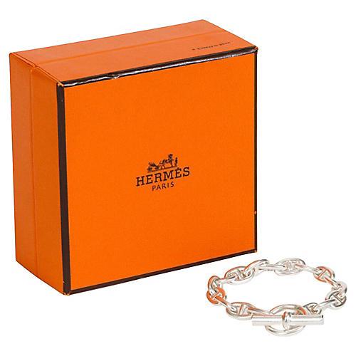 Hermès Sterling Chaine d'Ancre Bracelet