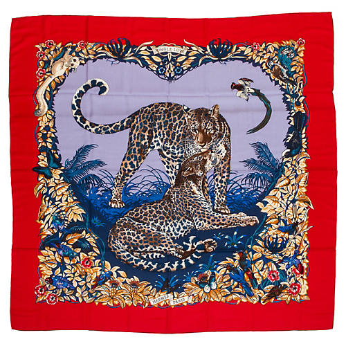 Hermès Cashmere Jungle Love Shawl